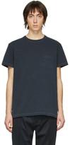 Schnaydermans Black Garment-Dyed Jersey T-Shirt