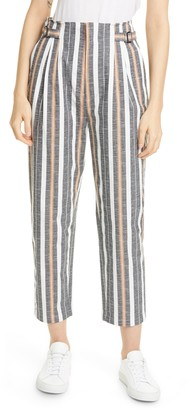 Joie Jamalla Stripe Stretch Cotton Pants