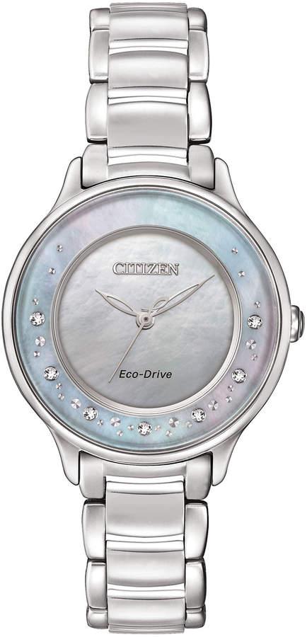 Citizen 30mm Circle of Time Diamond Bracelet Watch