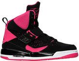 Nike Girls' Grade School Jordan Flight 45 High IP (3.5y-9.5y) Basketball Shoes