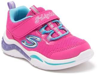 Skechers Power Petals Light-Up Sneaker (Toddler)