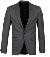 Hugo Arenz Grey Wool Blend Extra Slim Fit Jacket