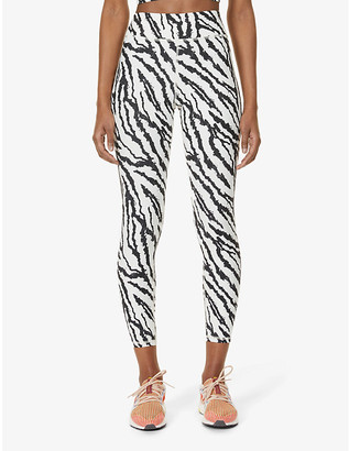 Michi Verve tiger-print high-rise stretch-jersey leggings