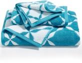 Charter Club Elite Cotton Fashion Trellis Washcloth, Created for Macy's