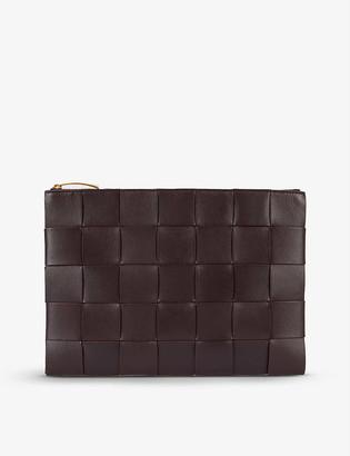 Bottega Veneta Padded Intrecciato leather pouch
