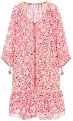 Poupette St Barth Floral cotton minidress
