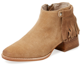 Sol Sana Logan Fringed Suede Bootie