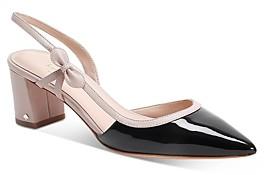 Kate Spade Women's Midge Bow Mid-Heel Pumps