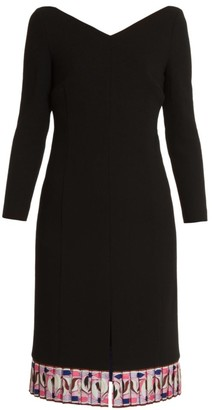 Emilio Pucci Double Virgin Wool Sheath Dress
