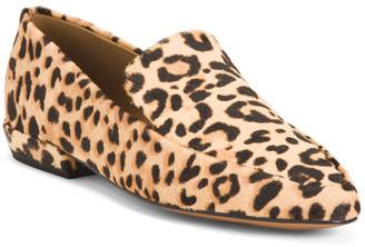 Leopard Haircalf Flats