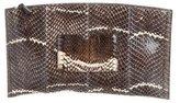 Reed Krakoff Snakeskin Atlantique Clutch