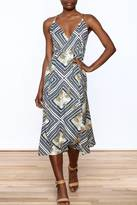 O'Neill Printed Wrap Dress