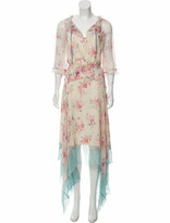 Thumbnail for your product : Vilshenko Arieta Silk Dress w/ Tags multicolor