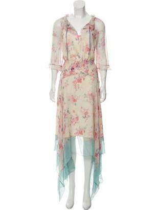Vilshenko Arieta Silk Dress w/ Tags multicolor