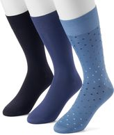 Marc Anthony Men's 3-pack Microfiber Dress Socks