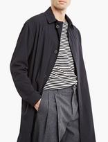 Lanvin Navy Gabardine Raincoat