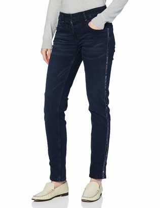 Cecil Women's 373524 Style Charlize Fit Slim Legs Jeans
