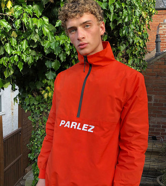 Parlez Vanguard jacket in coral exclusive at ASOS