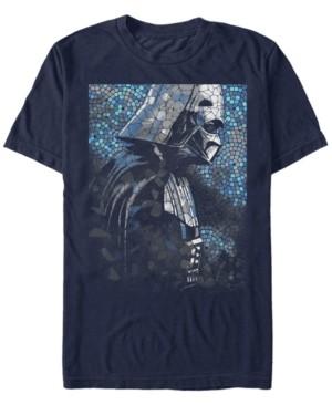 Star Wars Men's Classic Darth Vader Tiles Short Sleeve T-Shirt