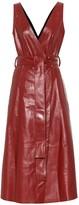 Petar Petrov Awel leather midi dress