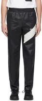 Helmut Lang Black Sash Polsh Track Pants