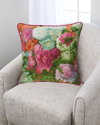 Yana Movchan Opposite Attraction Silk Pillow