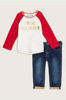 True Religion Ls Raglan Baby Gift Set