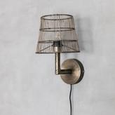 Graham and Green Raw Nickel Wall Lamp