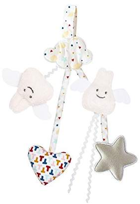 Trousselier Pacifier Holder/Crib Rattle Toy (Stars)