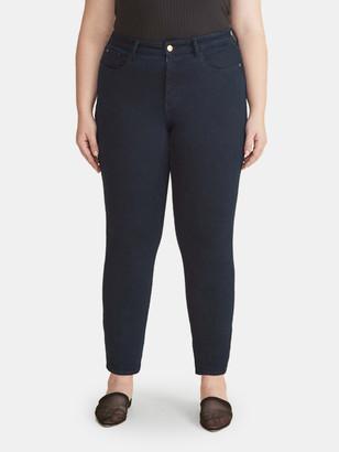Warp + Weft Oak Mid Rise Skinny Jean Inclusive
