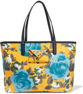 Marc by Marc Jacobs Metropolitote leather-trimmed printed coated-canvas tote