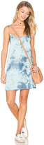 Blue Life Christy Slip Dress in Blue. - size L (also in M,S,XS)
