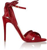 Christian Louboutin Women's Marylineska Eelskin & Suede Ankle-Strap Sandals