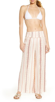 Surf.Gypsy Leno Stripe Cover-Up Pants