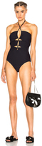 Rachel Comey Indra Swimsuit in Blue.