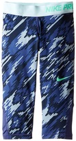 Nike Pro Cool Printed Training Capri (Little Kids/Big Kids)