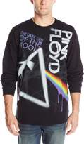 Liquid Blue Men's Pink Floyd Dark Side Graffiti Long Sleeve T-Shirt