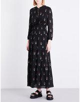 A.L.C. Cosimo silk-crepe dress