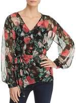 Vero Moda Lili Floral Wrap Top