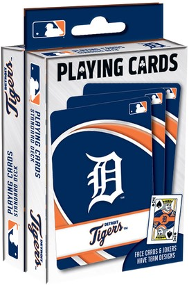 Detroit Tigers Playing Cards