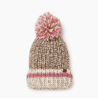 Roots Chunky Cabin Pom Pom Toque