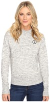 Converse Quilted Mock Neck Crew Fleece
