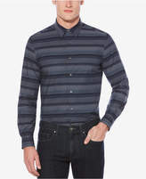 Perry Ellis Men's Classic-Fit Striped Stretch Shirt