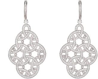 Celtic Aoife Earring Silver