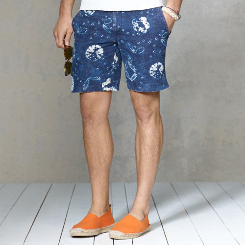 Polo Ralph Lauren Straight-Fit Shibori Short