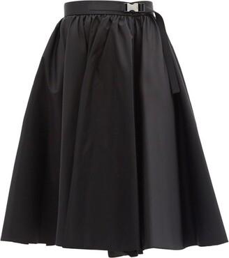 Prada High-rise Re-nylon Skirt - Black