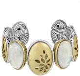The Sak Two -Tone Pierced Cuff Bracelet