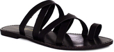 Fashion Focus Black Metric Sandal