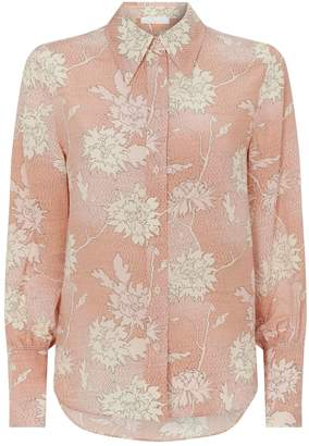 Chloé Silk Flower Shirt