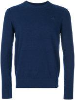 Diesel crew neck jumper - men - Cotton/Polyamide/Spandex/Elastane - S